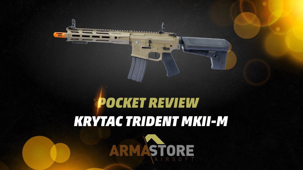 Carabine Airsoft Krytac Trident MKII-M CRB Desert – Pocket Review – EN / US