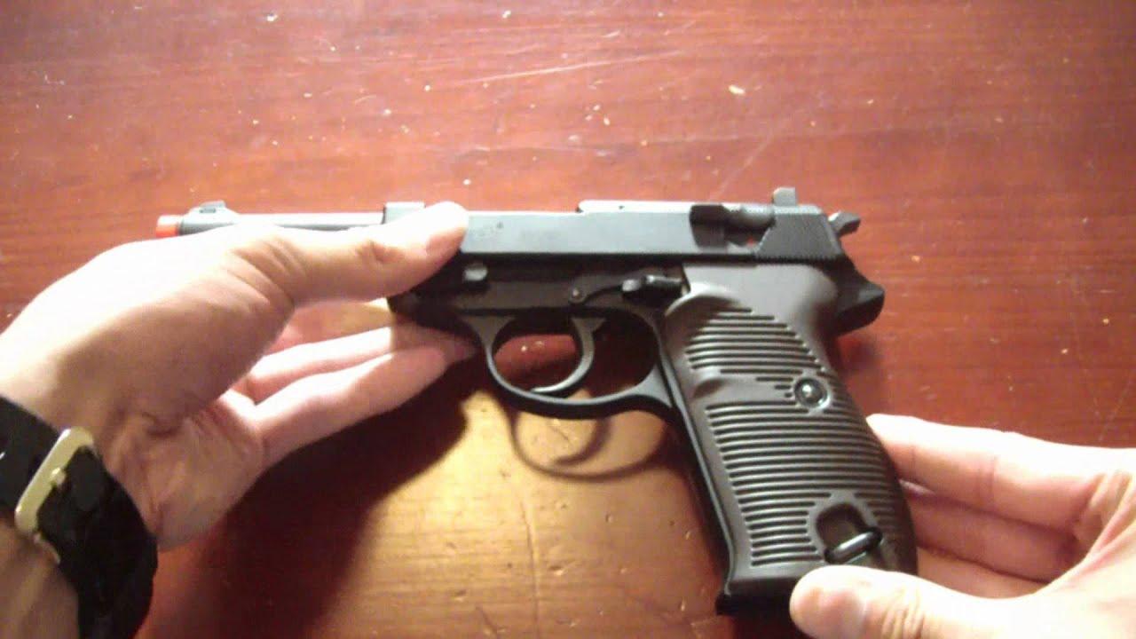 [Airsoft] Test du Walther P38 GBB, chrono, test de précision / tir