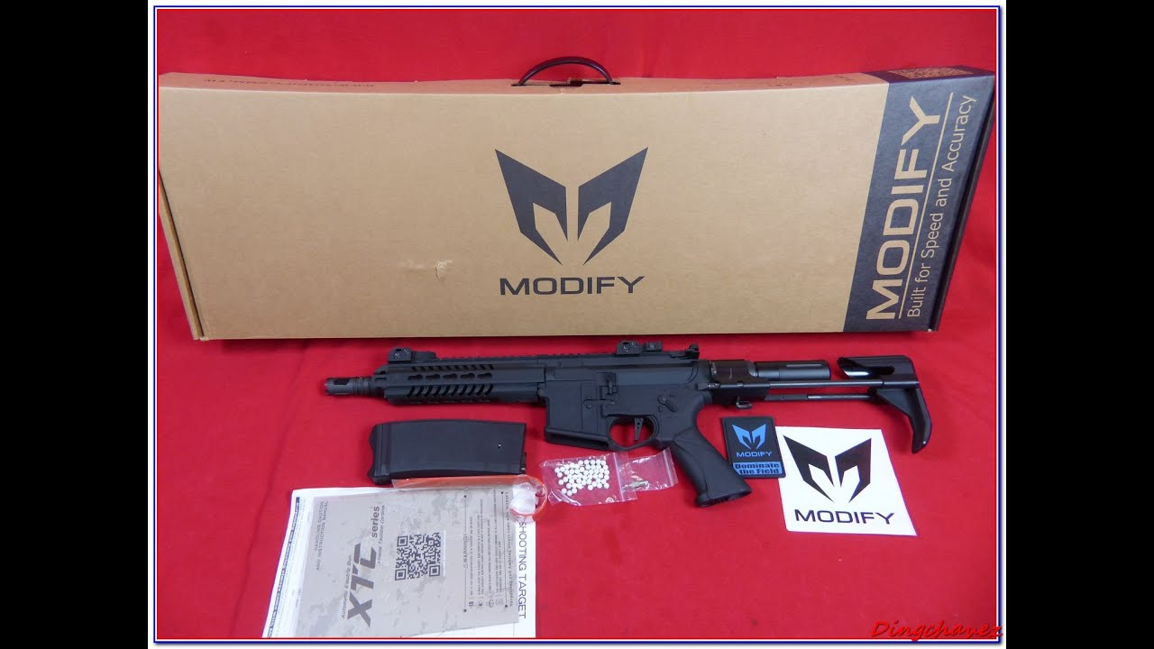 Airsoft – Modify XTC PDW shooting tests