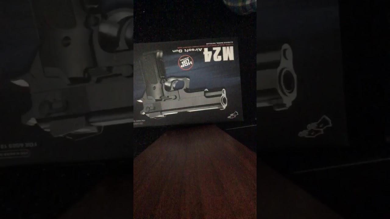 Revue du pistolet airsoft M24