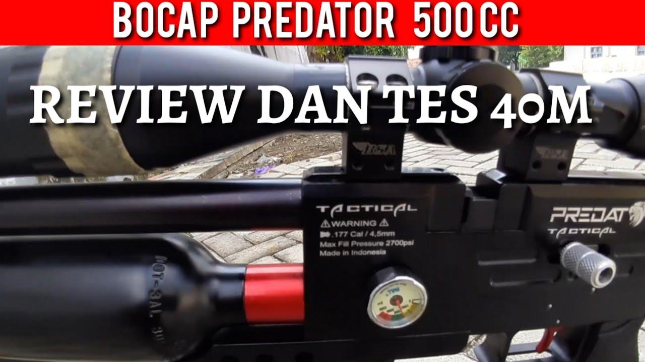 BOCAP PREDATOR 500CC SEMI CNC Review et 40m Test