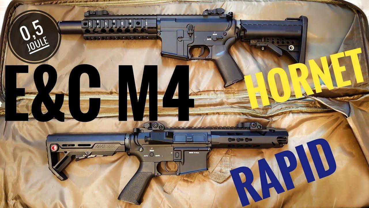 Avis sur Begadi E&C M4 Hornet & Rapid 0.5J