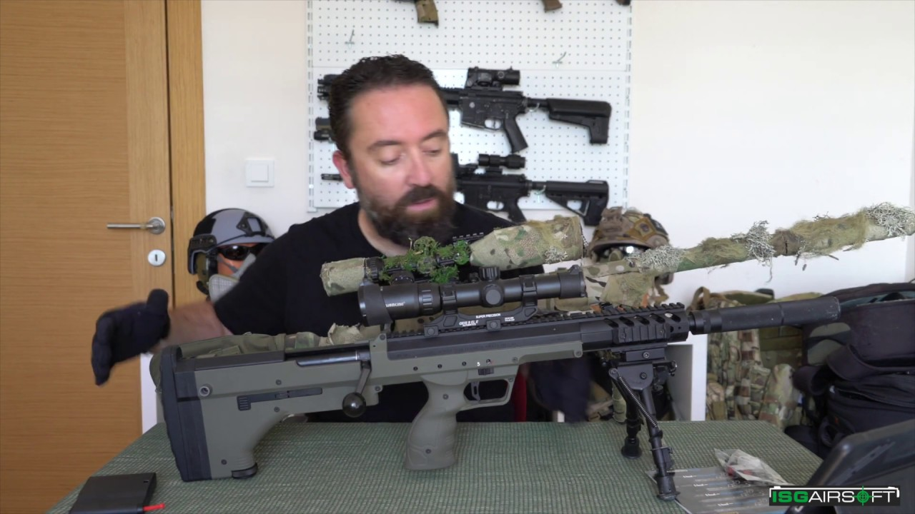 "Silverback Airsoft Srs A1 16 ""İnceleme Review (Eng. Sous-titres)"