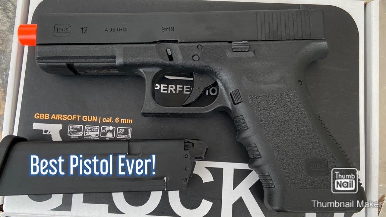 Glock 17 Gen 3 déballage, révision et prise de vue