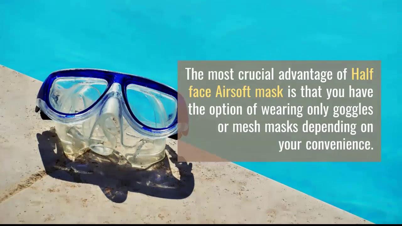Les meilleurs masques Airsoft Avis et Guide d'achat –