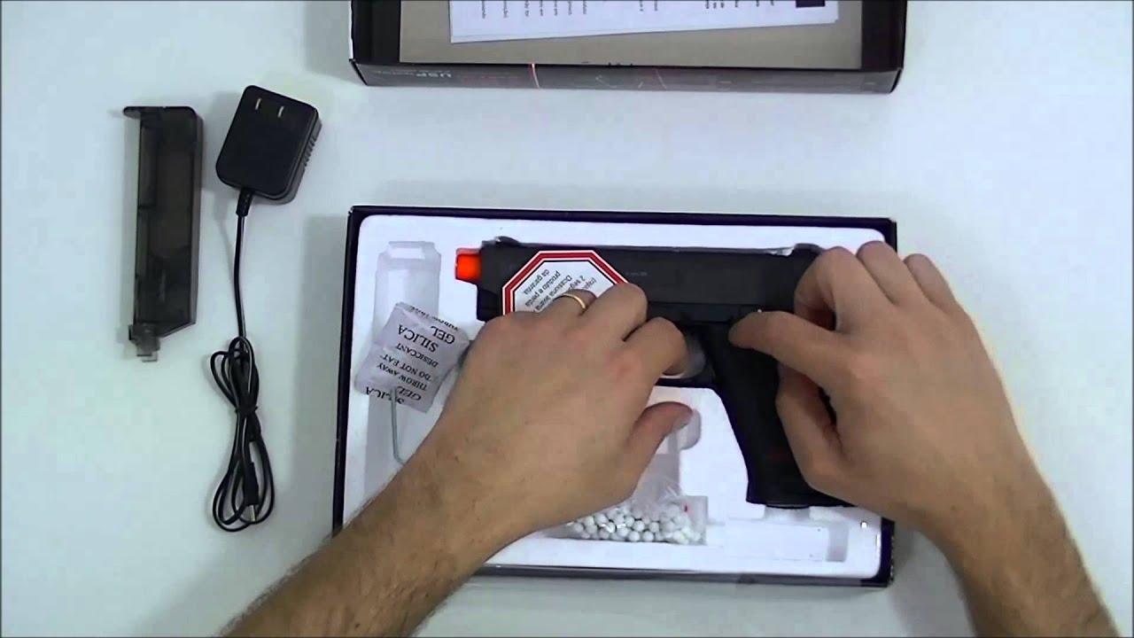 Pistolet électrique tactique Airsoft HK USP 6 mm