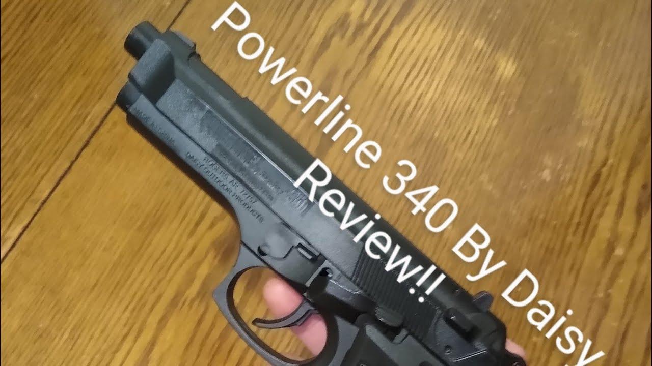 Pistolet Powerline 340 Power Spring par Daisy Review (appareil photo mort) Lien dans la description