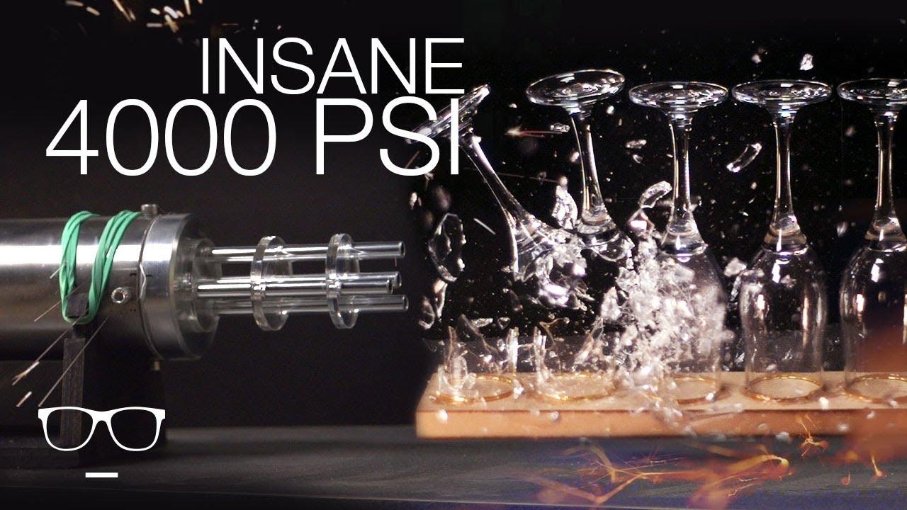 EXPERIMENT 4000 PSI BB Gun 🔫 || Parce que je peux | GIACO