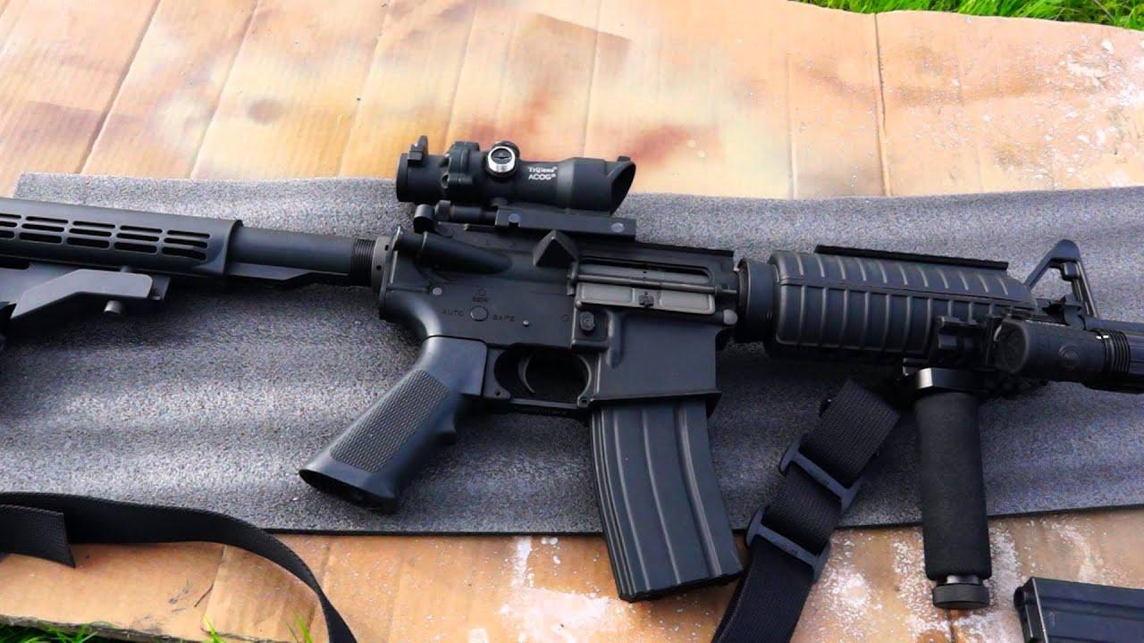 Airsoft M4A1 King Arms Review + Test de tir FR