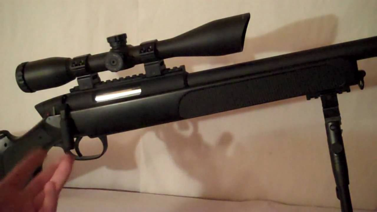 UTG M324 Master Airsoft Sniper Review