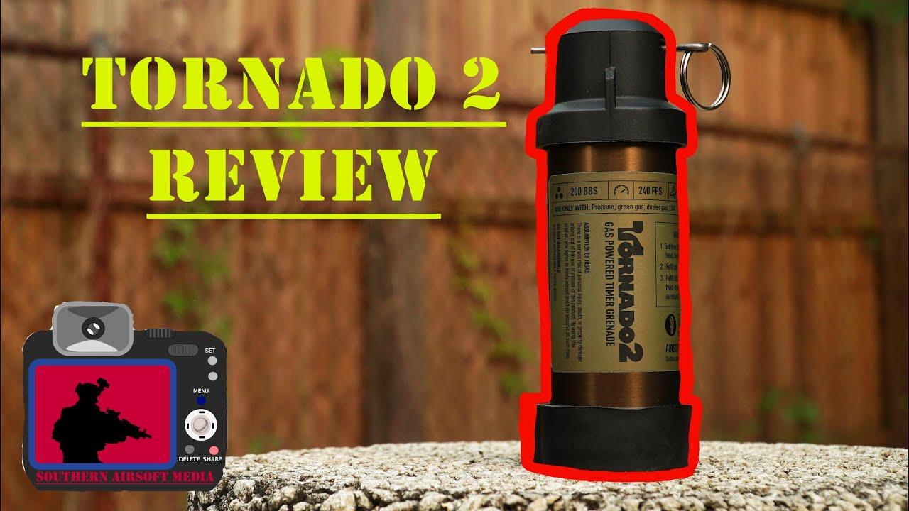 Test de l'Airsoft Tornado 2 (Airsoft Innovations Grenade)