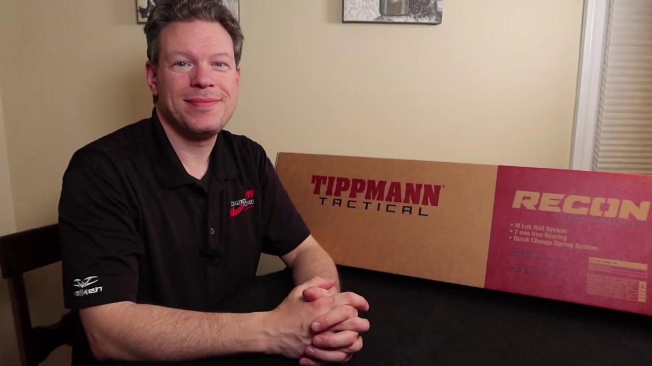 Tippmann Recon M4 carabine airsoft examen complet avec démontage par Hogan & # 39; s Alley