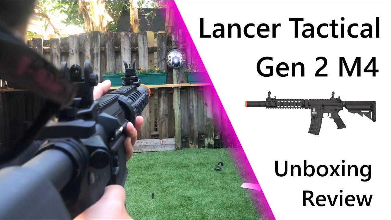 Lancer Tactical M4 Gen 2 SD AEG | Déballage et révision