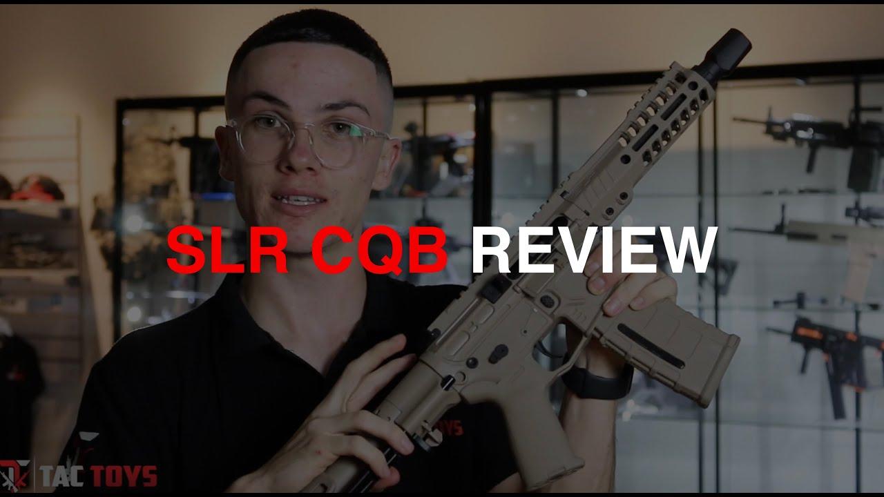 SLR CQB GEL BLASTER REVUE | TacToys