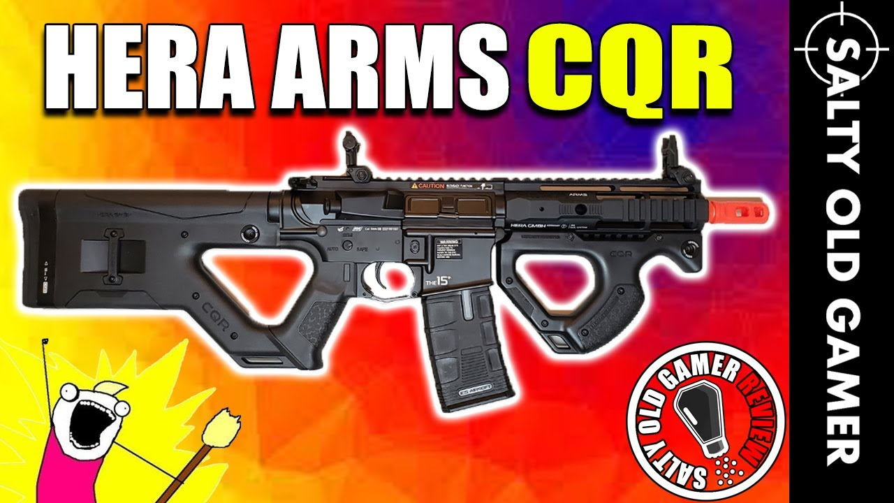 L'impressionnant ASG Hera Arms CQR | SaltyOldGamer Airsoft Review