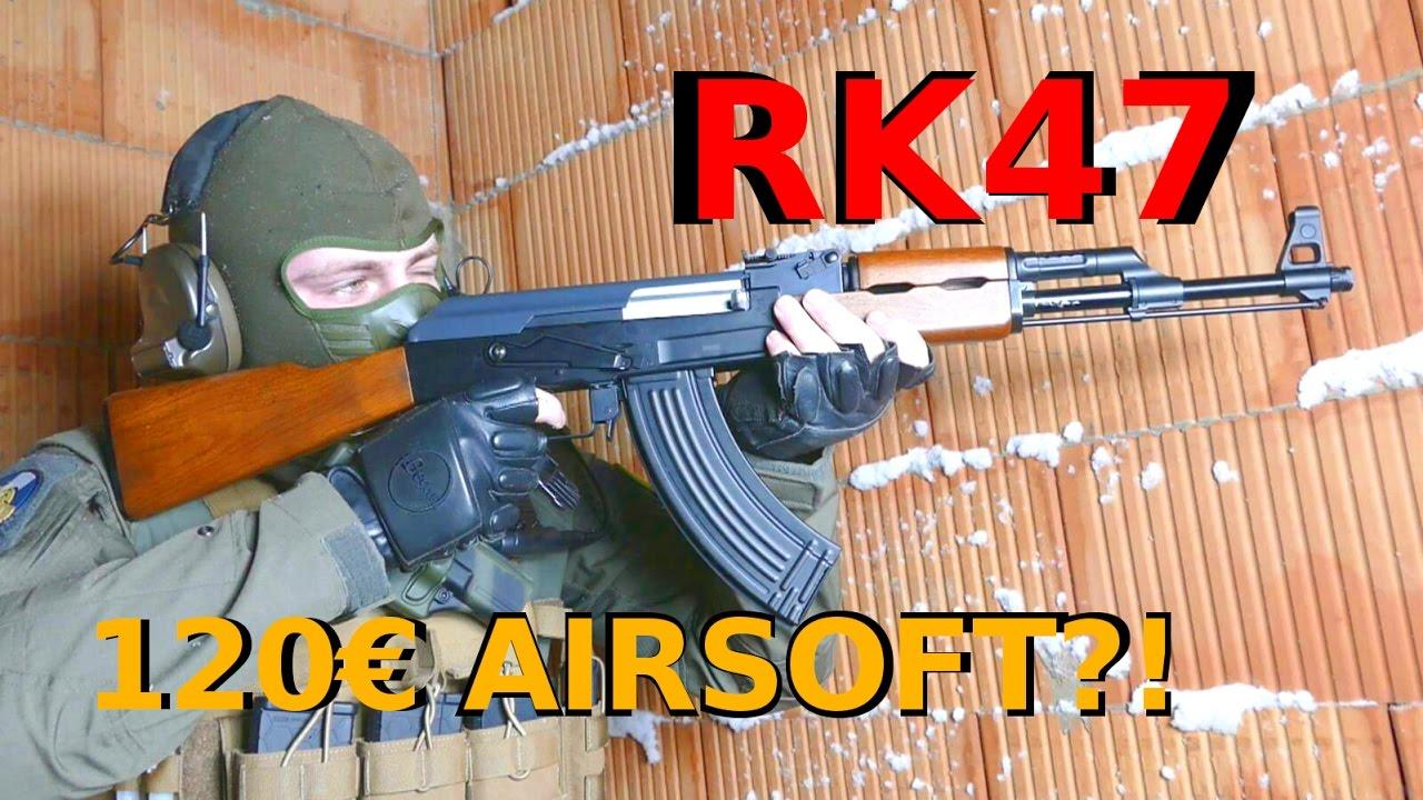 120 € AIRSOFT AK Army Armament RK47 Review GsP Airsoft [DE]