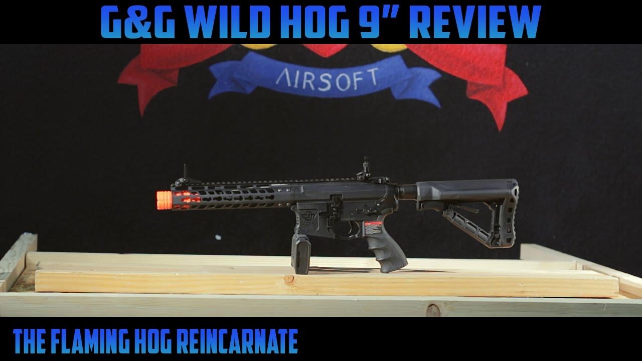 """Examen des pistolets Airsoft G&G Wild Hog 9 """""""