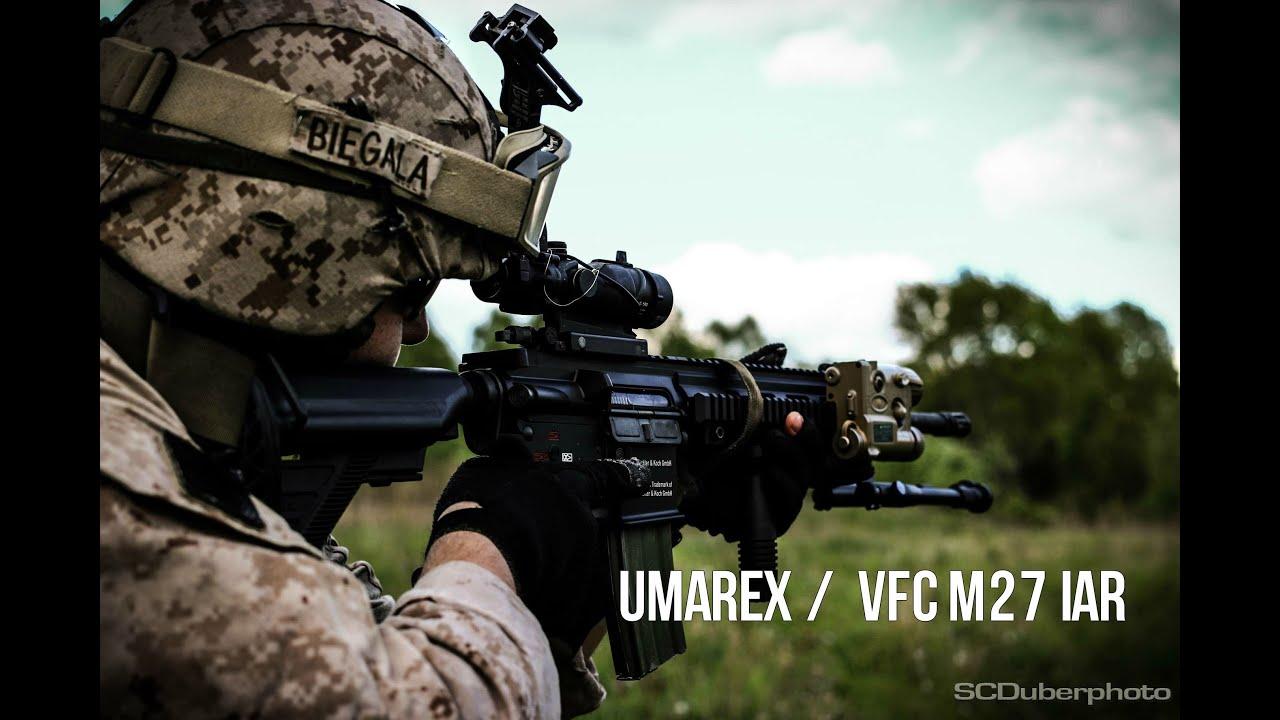 Gunfire & SCDTV – Umarex / VFC M27 IAR aeg airsoft examen