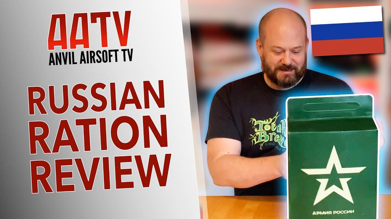 Packs de rations russes   Avis sur Airsoft Ration Pack   EP113