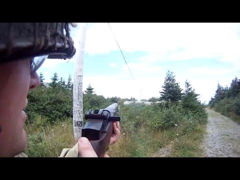 Airsoft WWII: société HQ ICS M1 Garand Red Cliff POV gameplay vidéo