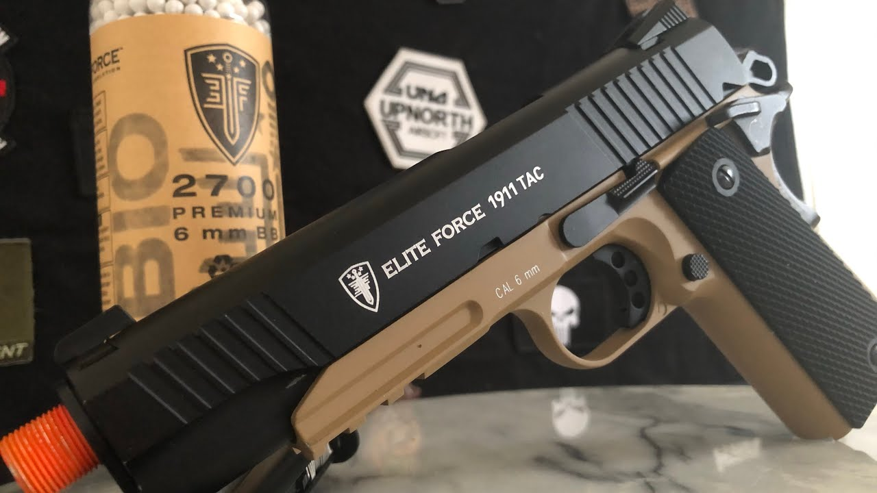 Elite Force 1911 Tac Review – UpNorth Airsoft