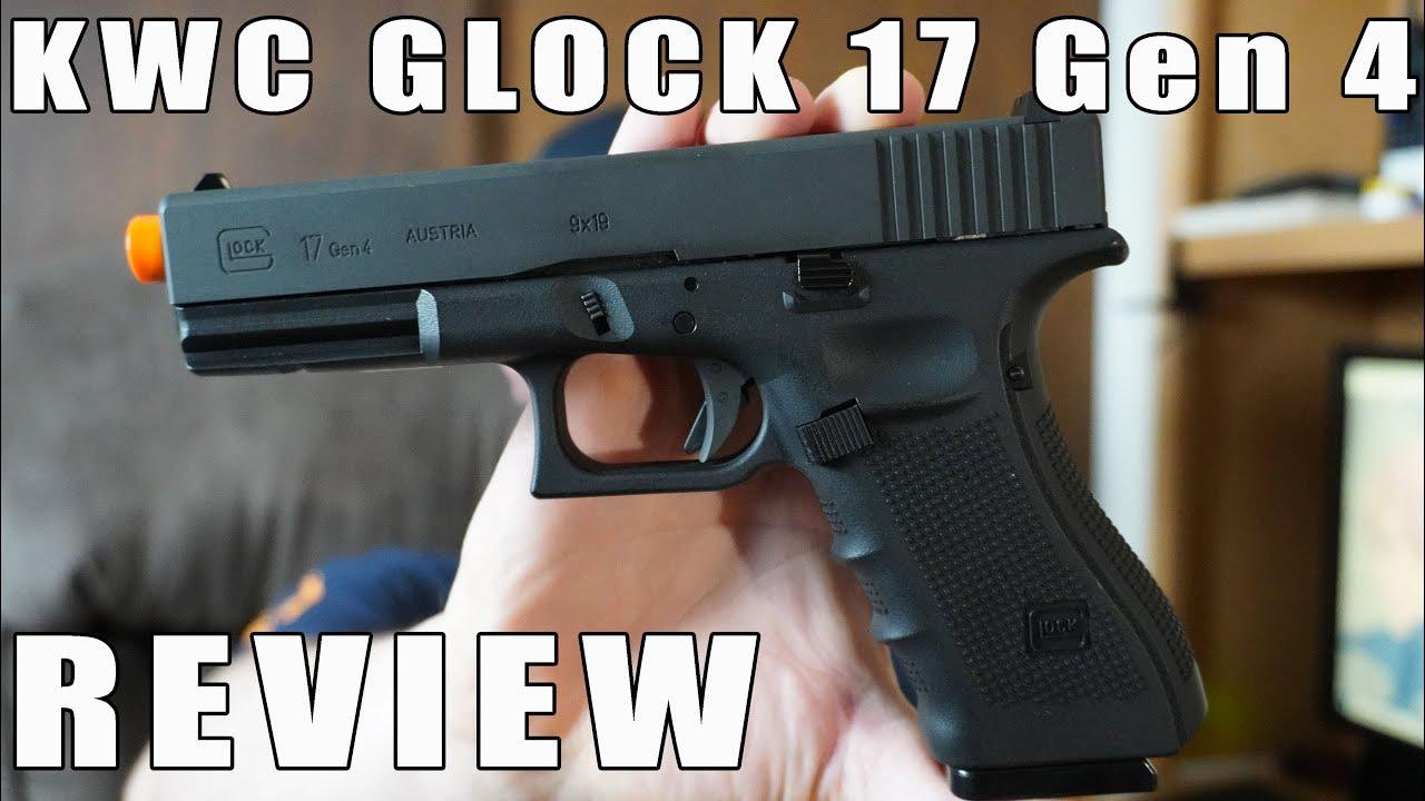 Examen / Aperçu du CO2 Glock 17 de KWC