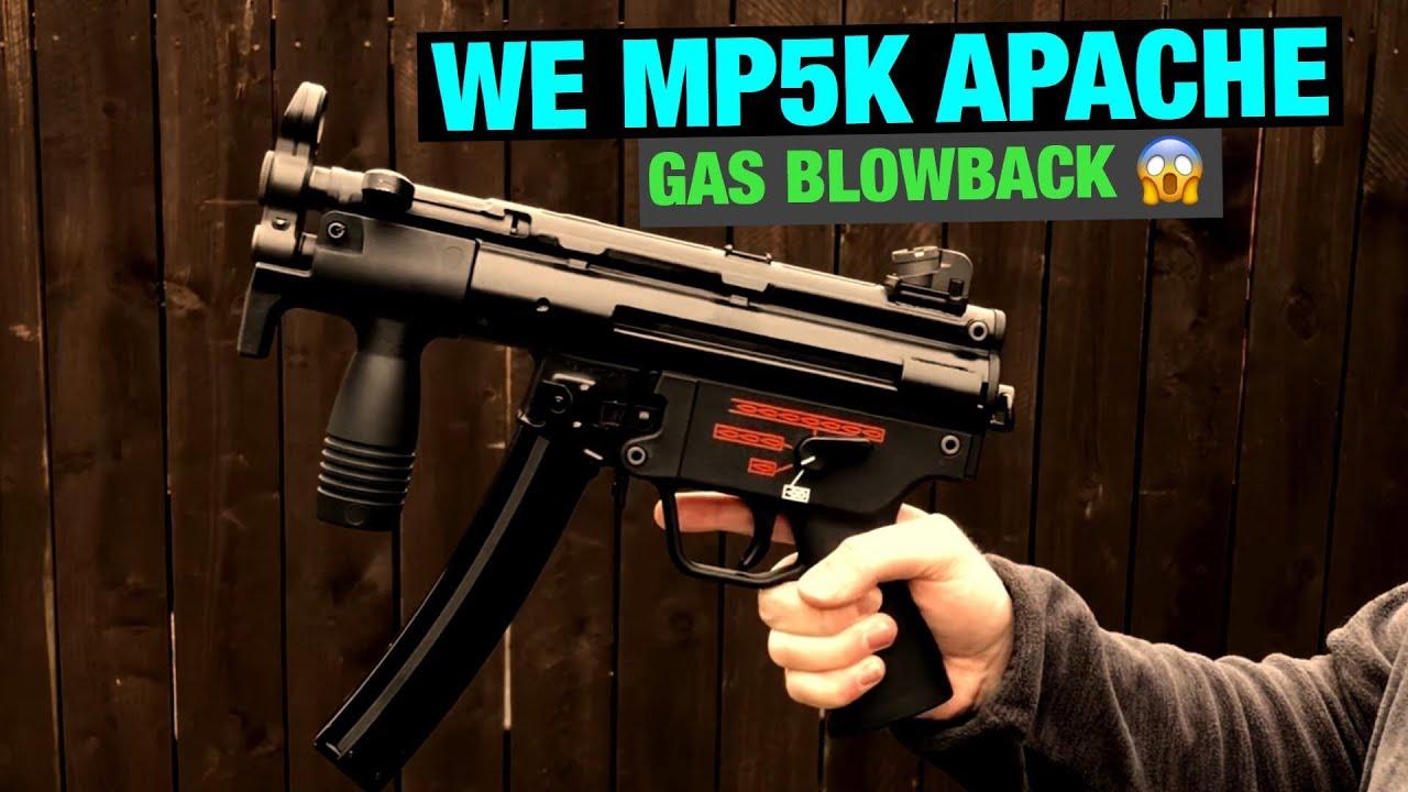 WE MP5K Apache GBB Review