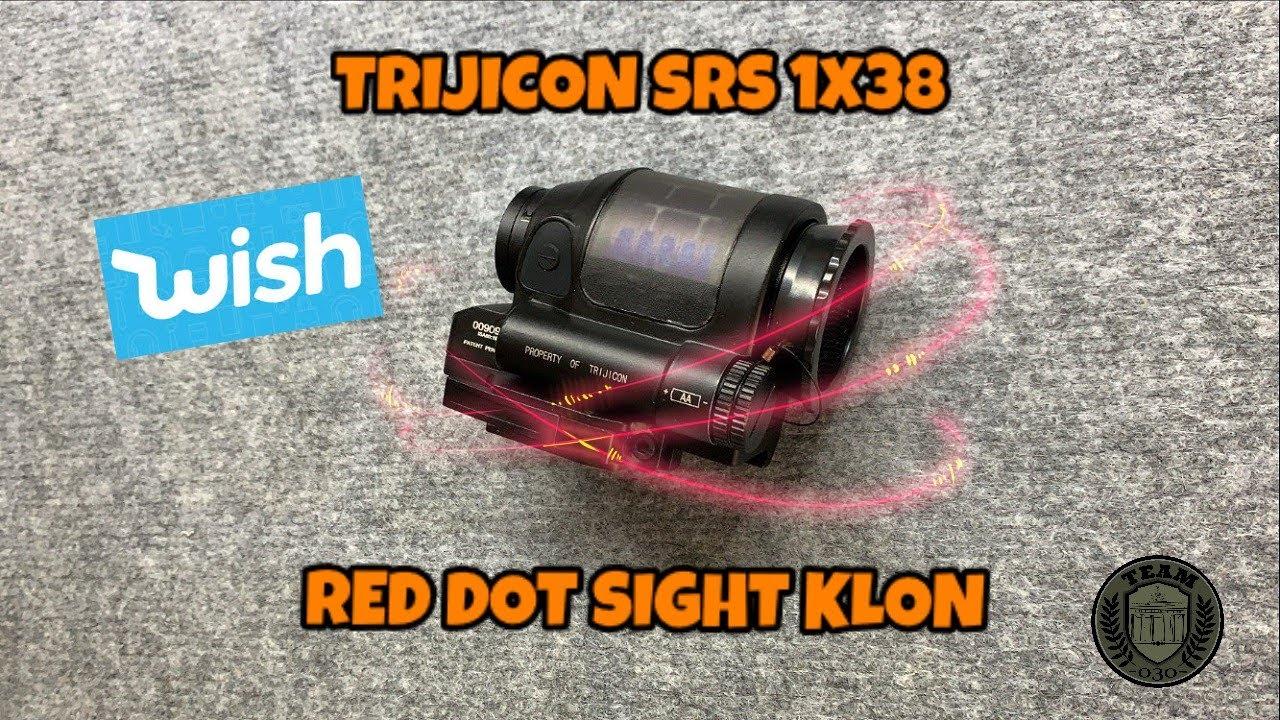 [OVERVIEW] TRIJICON SRS 1×38 wish clone AIRSOFT Red Dot Sight deutsch / german