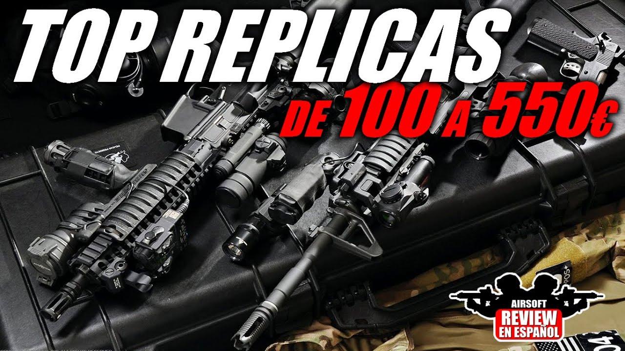 TOP REPLICAS d'Airsoft de 100 € à 550 €   Revue Airsoft en espagnol