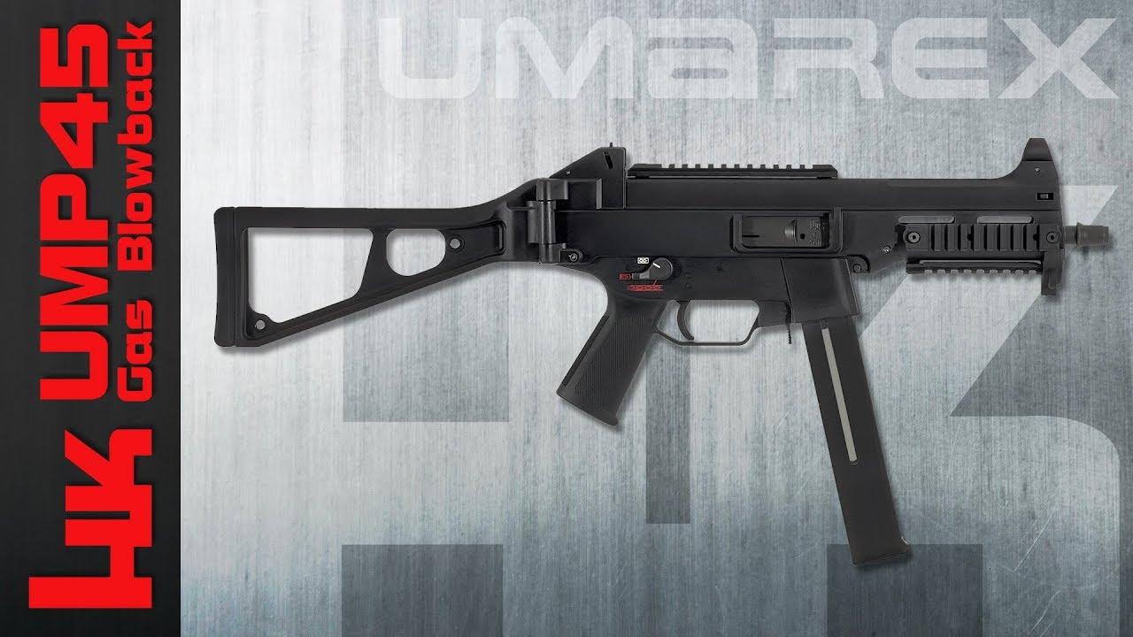[Review] VFC / Umarex HK UMP45 GBB (Heckler & Koch) 6 mm Airsoft / Softair (allemand, DE)