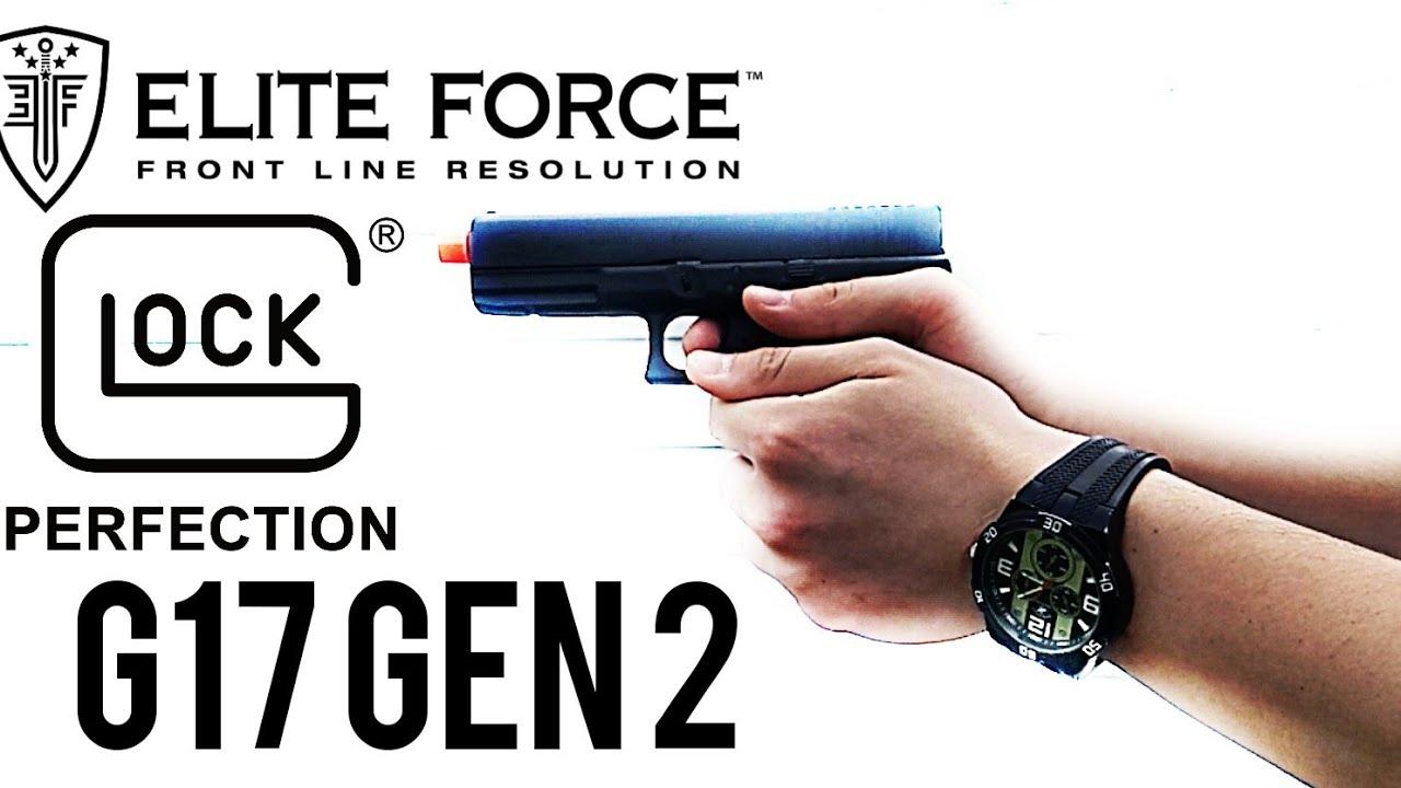 #airsoft #eliteforce #airsoftgi Pistolet Airsoft sous licence ELITE FORCE Gen2 G17 | Revue de Tubsoft # 2