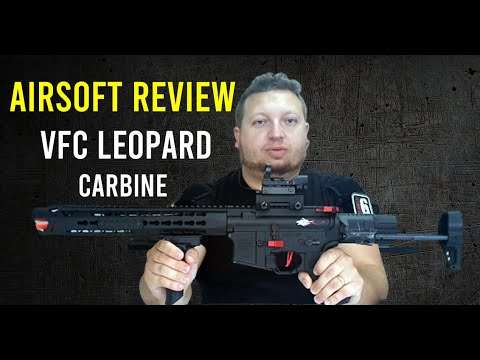 ★ REVIEW AIRSOFT – Carabine léopard VFC