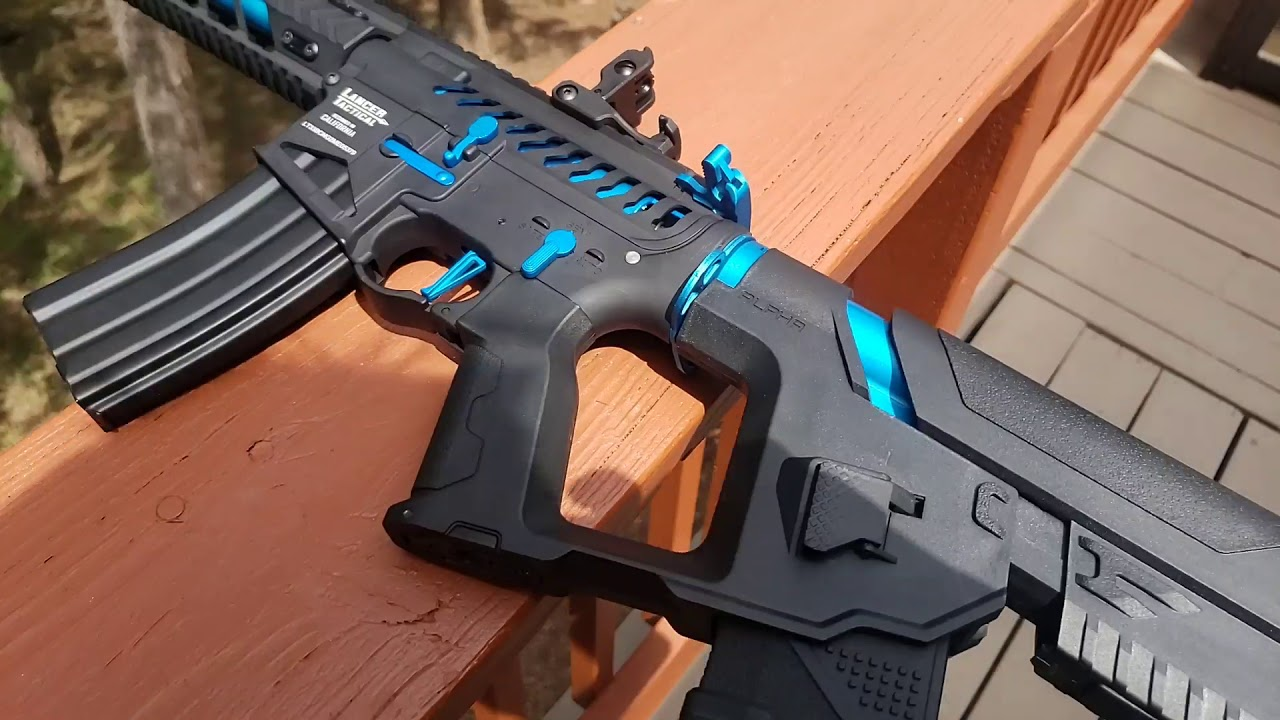 Revue Airsoft: Lanceur tactique Gen 2 NightWing