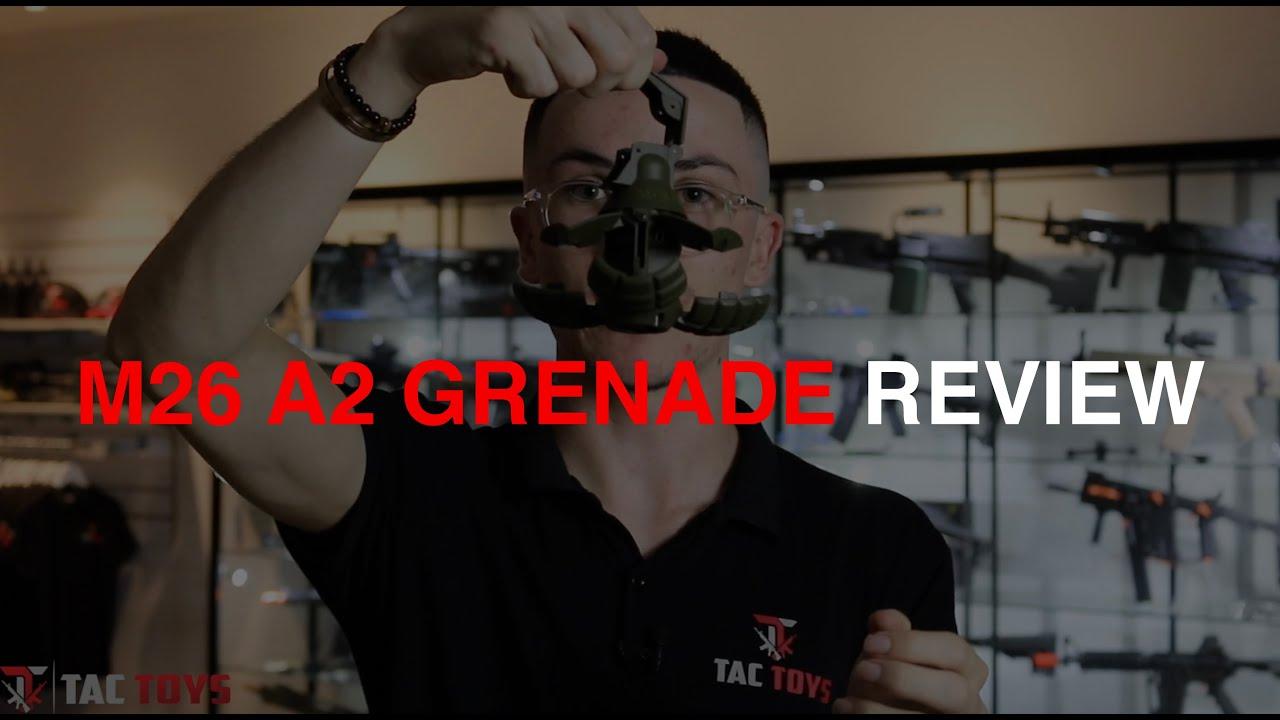 Critique de la Grenade à bille gel JM M26 A2 | TacToys