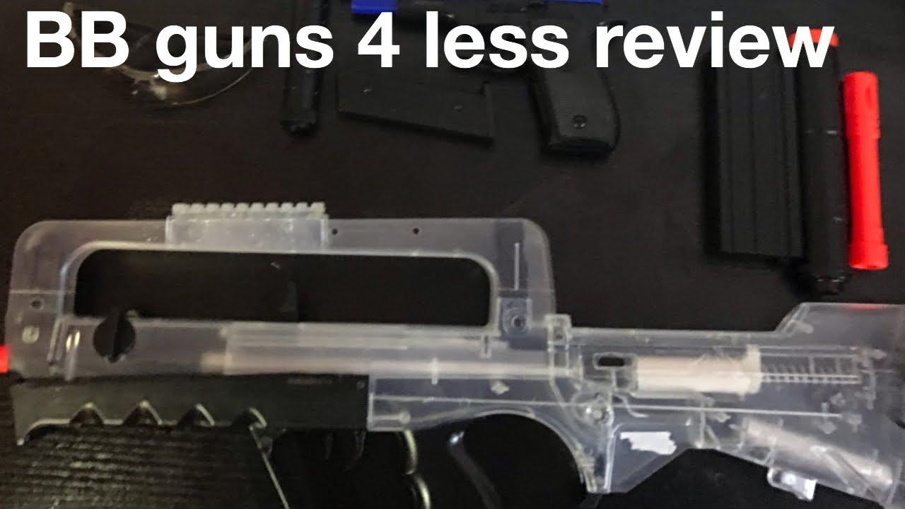 Pistolets BB pour moins d'avis