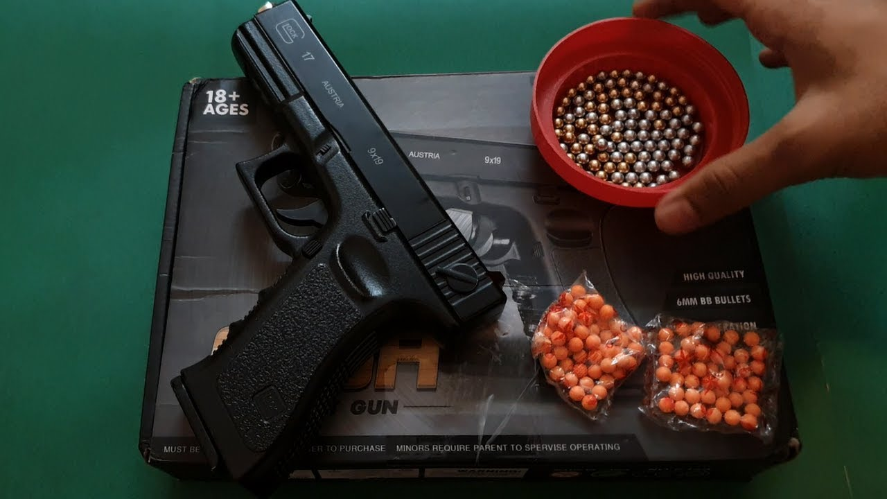 Pistolet Airsoft C.15a au Pakistan | Déballage et révision en ourdou