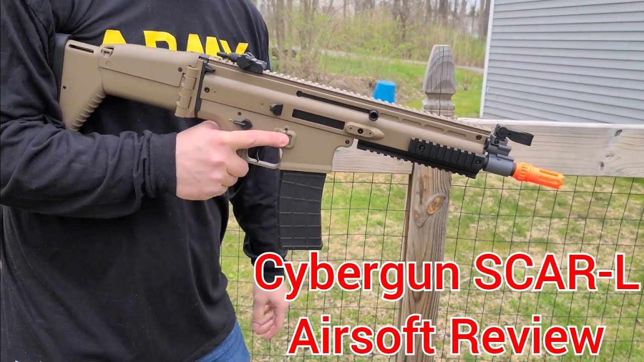 FN Herstal SCAR-L par Cybergun – Avis Airsoft