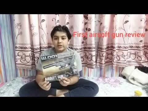 Ma première revue d'airsoft gun