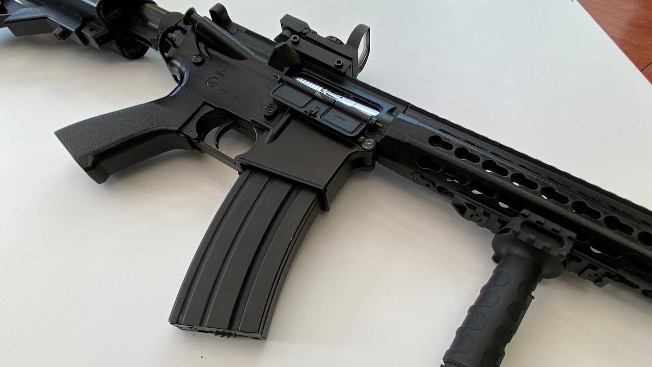 Meilleur pistolet airsoft débutant (4K 60 FPS) – CYMA CM .515 M4A1 Carabine Review