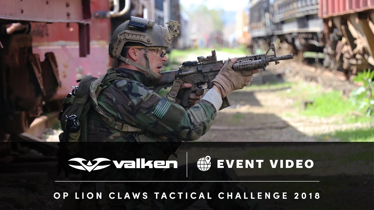 Op Lion Claws Tactical Airsoft Challenge 2018