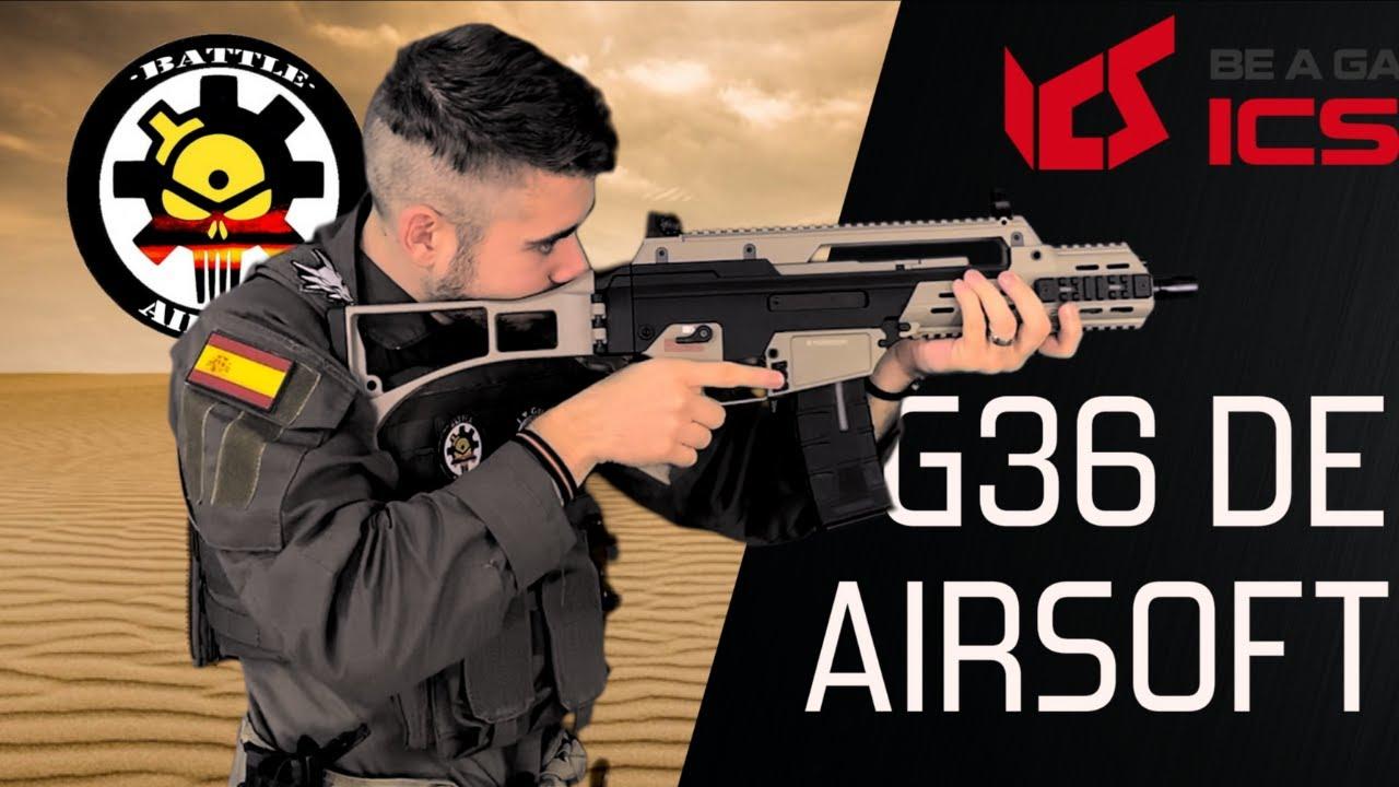 L'ICS G33 est-il le meilleur Airsoft G36? / Test et test de tir en espagnol