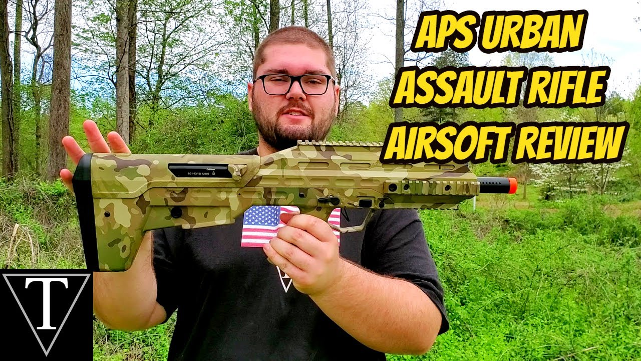 APS Urban Assault Rifle Airsoft Review
