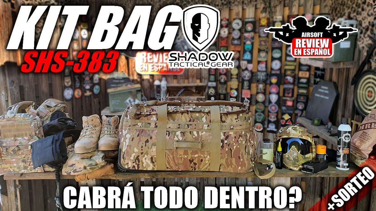 Est-ce que tout ira dans le sac à dos SHADOW TACTICAL GEAR KITSAG SHS-383?   Revue Airsoft en espagnol