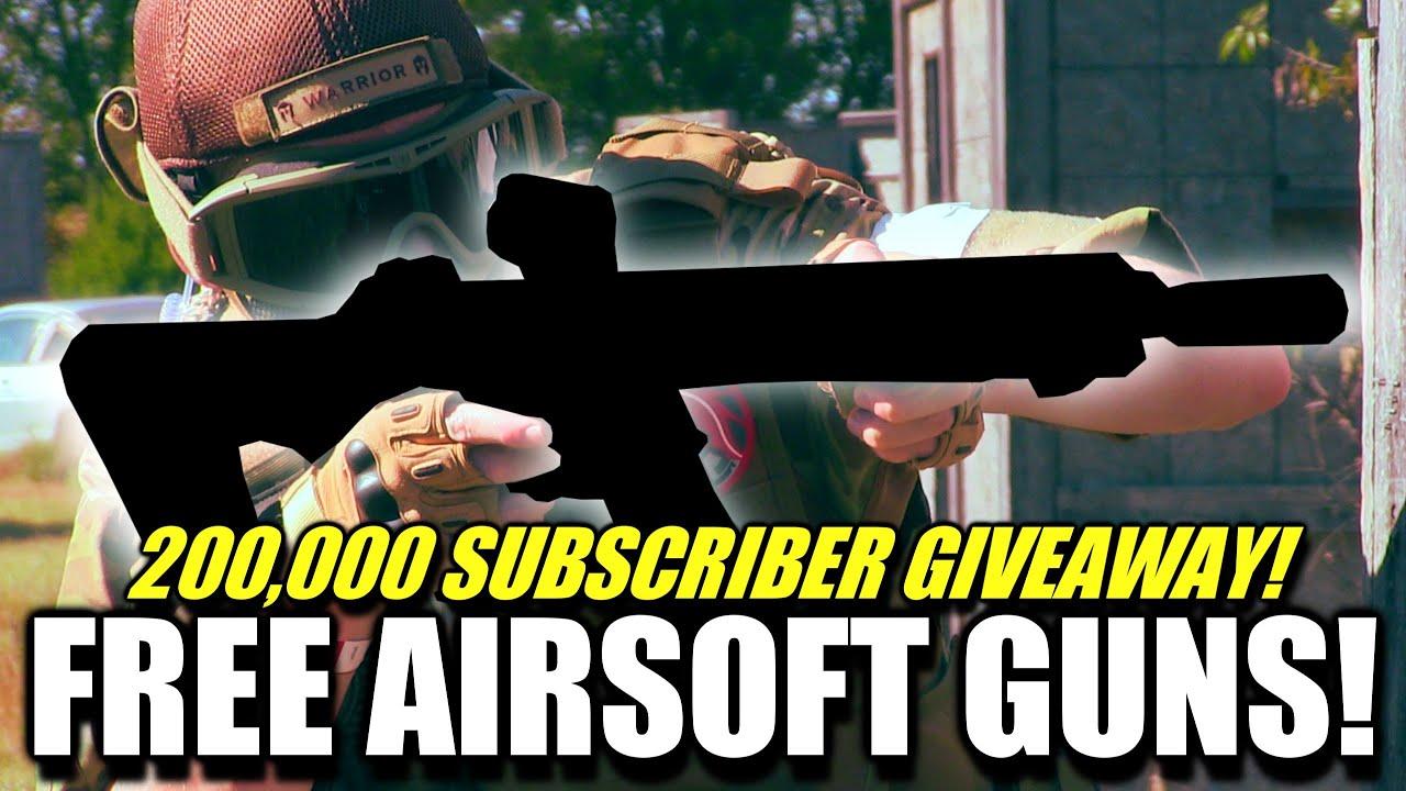 (FERMÉ) Qui veut un pistolet Airsoft aléatoire gratuit? J'ai besoin de deux gagnants!