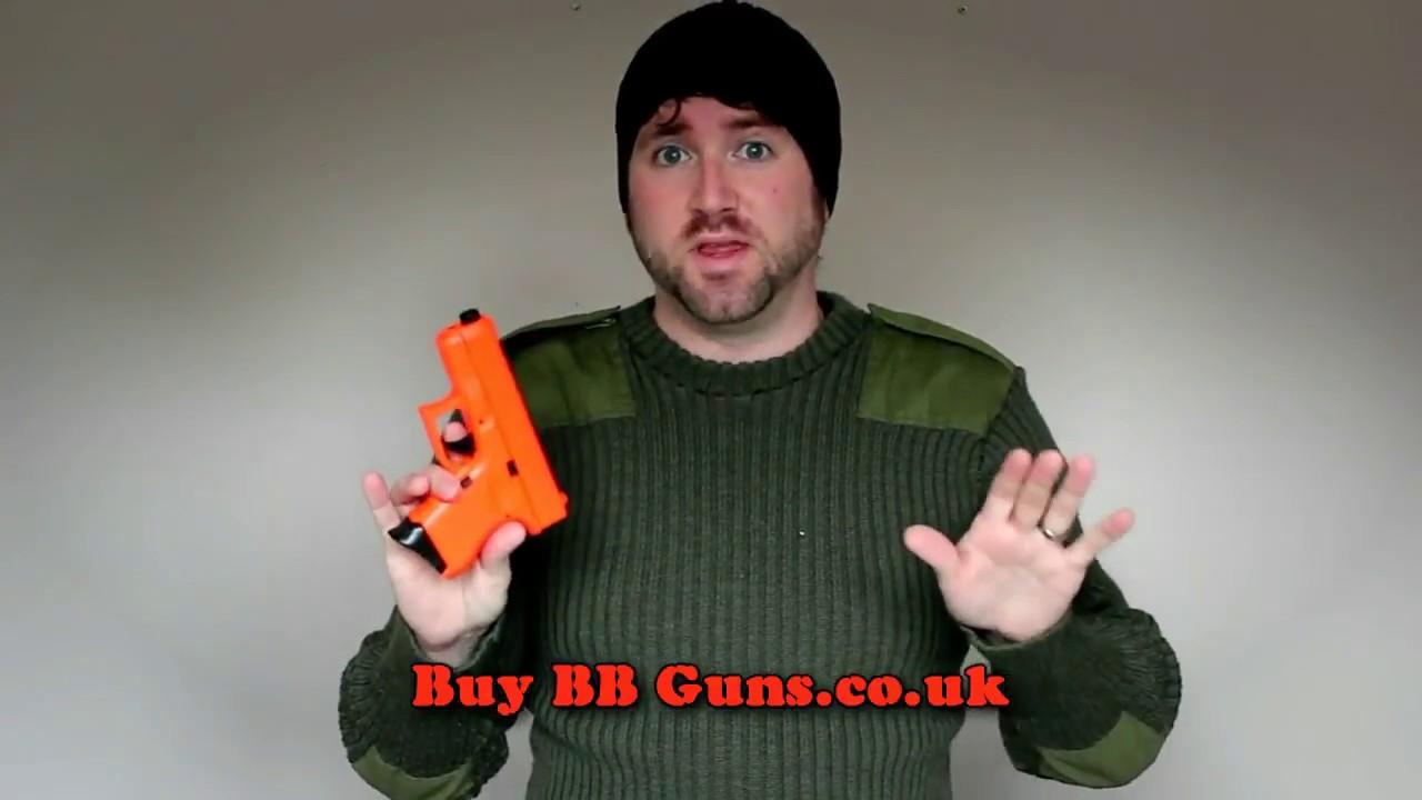 P360 Pistolet à ressort BB Gun Airsoft Review