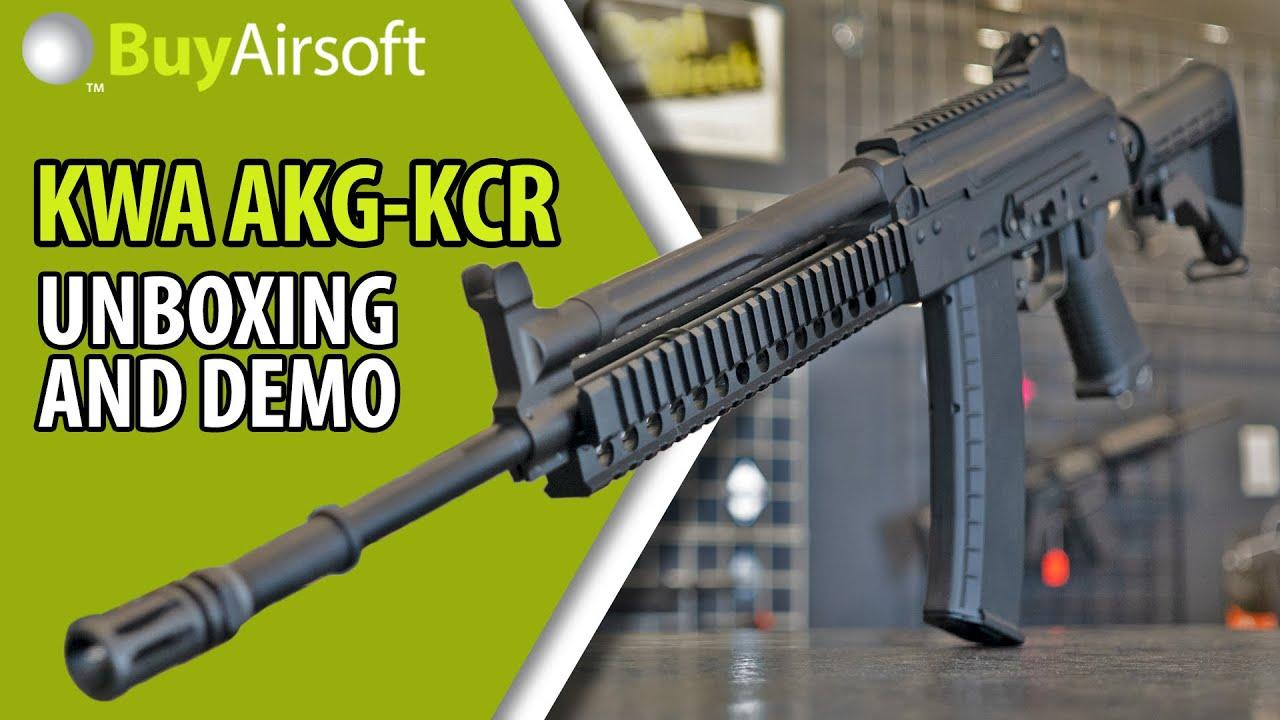 BuyAirsoft: KWA AKG-KCR GBB-R Unboxing, Tutoriel et Démo