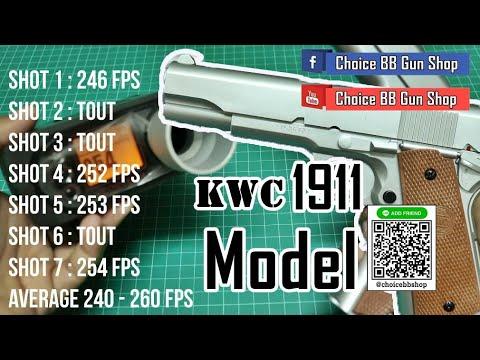 Test du pistolet à air comprimé modèle KWC 1911   Test du pistolet à air comprimé modèle KWC 1911   Choix BB Gun Shop