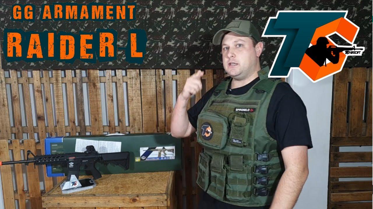 REVUE – Fusil Airsoft G&G CM16 Raider-L