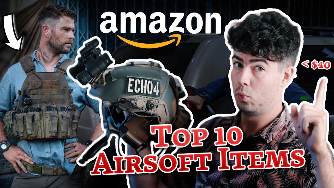 Les MEILLEURS articles Airsoft d'Amazon (Mon Top 10)