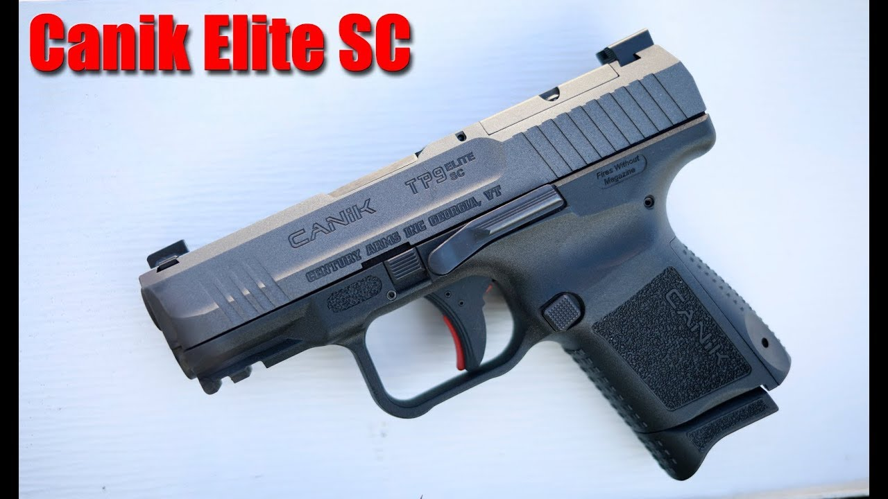 Canik Elite SC 350 $ Sub Compact 1000 Round Review